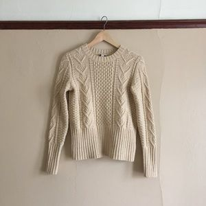 Gap cotton cable knit sweater